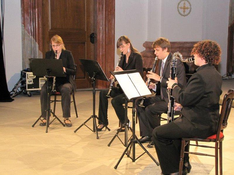 80418c493 Koncert klarinetového kvarteta v Skalici zožal úspech