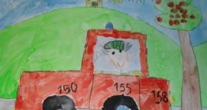 Úspešná maliarka zo škôlky v Popudinských Močidľanoch