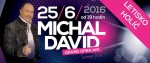 EXKLUZÍVNE: Michal David priletí na koncert v Holíči helikoptérou