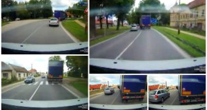 VIDEO: Obrovský hazard vodiča v Jablonici
