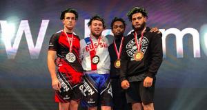 Lukáš Piffko z Malaciek vicemajstrom sveta v MMA!