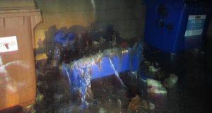 Muž v Holíči úmyselne podpaľoval kontajnery!
