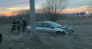 Dopravná nehoda na ceste z Holíča do Kopčian
