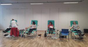Valentínska kvapka krvi v Skalici prilákala 46 dobrovoľných darcov!