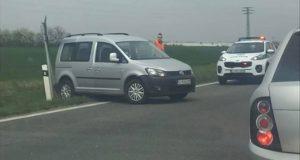 AKTUÁLNE: Dopravná nehoda na obchvate v Skalici