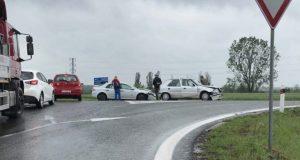 Dopravná nehoda na obchvate v Skalici