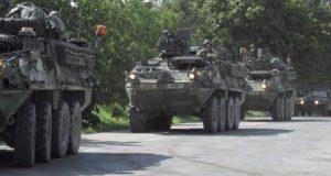 POZOR: Cez Záhorie sa popoludní bude presúvať konvoj americkej armády
