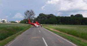 Mama s dvoma deťmi predbiehala, pri Gbeloch dostala šmyk, zasahoval vrtuľník!