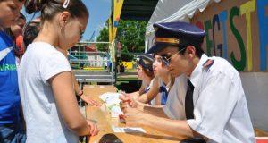 Letecký deň detí v Senici