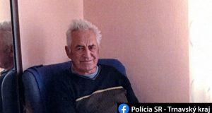 Polícia stále pátra po 82 ročnom pánovi zo Skalice!