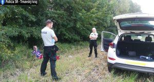 Policajti našli azachránili muža na pátraní