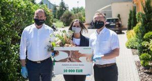 Štedrý dar od spoločnosti Schaeffler Skalica – 30 tisíc eur pre domovy dôchodcov